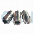 Hex Socket Set Screw with Flat Point DIN913 S. S M1.4-M24 304, 316stainlesss